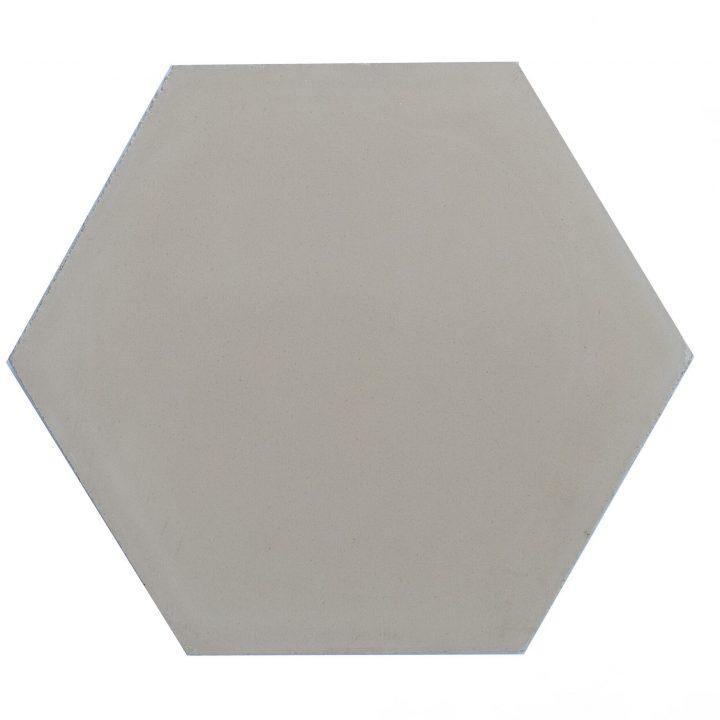 Cement-tegels-HX-C12-beige-effen-hexagon-groot